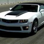 2011 Chevrolet Camaro SLP ZL1 Convertible Track Test Video