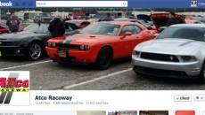 Atco Raceway features the CamaroNews Camaro!