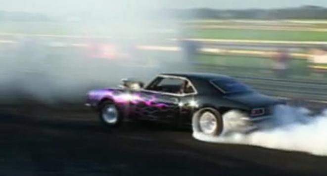 Crazy Camaro Burnout