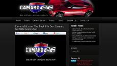 Chevy Hardcore Spots Hot New 6th Gen Website: CamaroG6.com