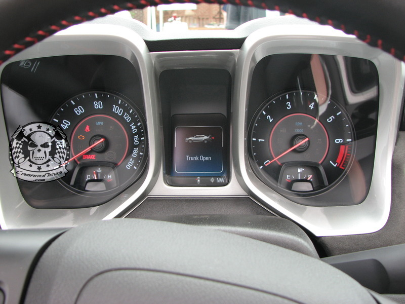 FIRST LOOK EXCLUSIVE OF 2014 COLOR HUD ON ZL1 ( CAMARONEWS.COM )