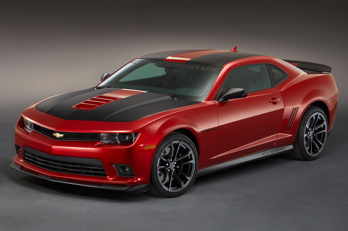 Three 2014 Camaro Concepts and Limited Spring Edition Camaro at SEMA 2013