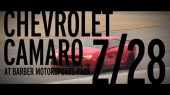 Z/28 dicing at Barber Motorsports Park March 22, 2014