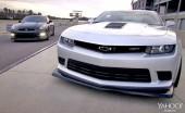 2014 Chevrolet Camaro Z/28 vs. Nissan GT-R – Yahoo Autos