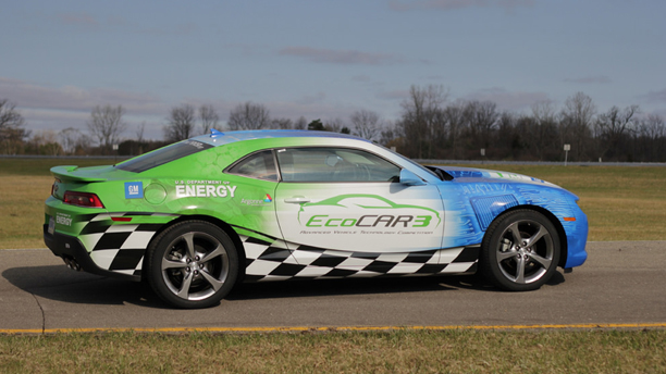 Students Turn A Chevy Camaro Into A Fuel-Sipper?
