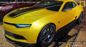 2015 Chevrolet Camaro Prototype from Transformers 4 Movie-Exterior Walkaround