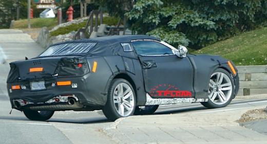 Camaro News October 19, 2014 – 2016 Convert spotted?