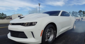Chevrolet Performance – COPO Camaro Validation Runs an 8.99
