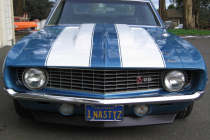 1969 Chevrolet Camaro Z/28 – LeMans Blue CE302 Factory M22 Rockcrusher 3.73 Posi
