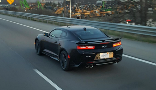 2017 CAMARO ZL1 SPOTTED IN WILD!