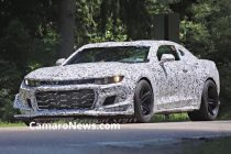 Camaro Z28 Prototype Ditches Wing For Public Road Tests In Michigan