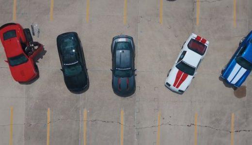Six Generations of Camaro on 2016 HOT ROD Power Tour