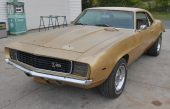 1969 Chevrolet Camaro Z/28 Rally Sport Barn Find with Dealer Invoice