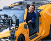 Mark Wahlberg thrown out of autobot Chevy Camaro Convertible as he shoots stunts for upcoming Transformers sequel