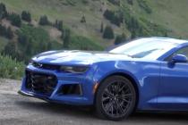 2017 Chevy Camaro ZL1 Spied in the Wild In Colorado
