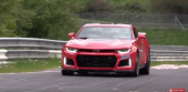 2017 Chevy Camaro ZL1 Testing on the Nurburgring!