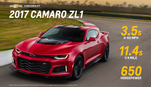 2017 CAMARO ZL1 AND 1LE: GET USED TO OUR TAILLIGHTS