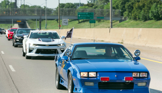 Hundreds of Camaro Enthusiasts Rally For 50th Anniversary Coffee And Drive