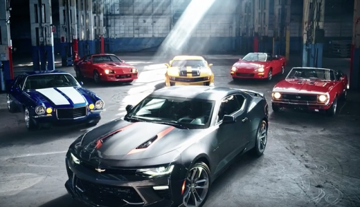 Celebrate the Camaro 50th Anniversary – Camaro Is Art | Chevrolet