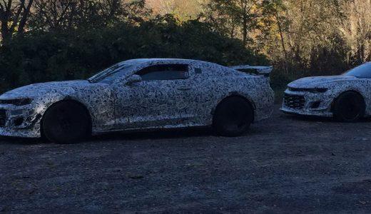 Chevrolet's New Camaro Z/28 Scooped Testing In Virginia