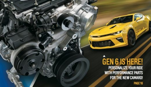 GM Performance Parts Catalog For CamaroSix Now Available