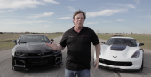 2017 ZL1 Takes On The Mighty C7 Z06