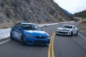 Watch the Chevrolet Camaro V6 1LE, BMW M2 Go Head 2 Head – Motor Trend