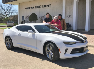 Frank Kent Country donates Camaro to Derrick Days car raffle – Corsicana Daily Sun