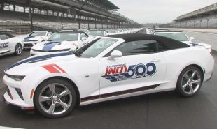Chevy presents Camaro SS Convertible Indy Festival Cars