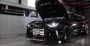 Dyno reveals Hennessey's Exorcist Camaro ZL1 puts down 959 hp at rear wheels